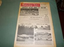 MOTORING NEWS 1970 Aug 27 Oulton F1, Enna F2, 1000 Lakes Rally, Can Am